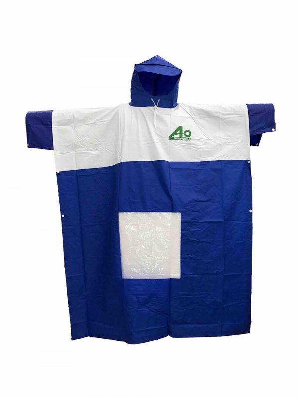 áo mưa trong suốt đi buổi tối