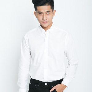 đồng phục áo sơ mi nam trắng