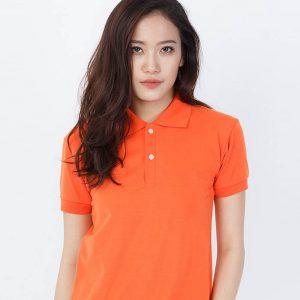 áo thun đồng phục trơn cam