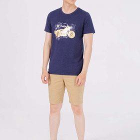 áo thun t -shirt in logo nổi