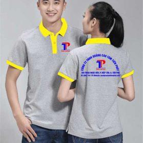 may áo thiết kế in logo công ty