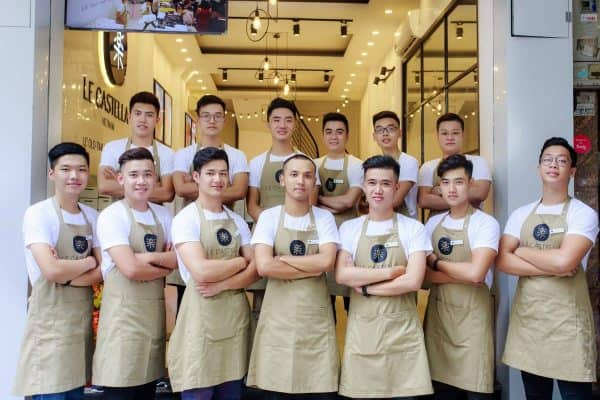 đồng phục cafe