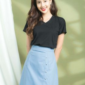 áo thun công sở tay ngắn cho nữ