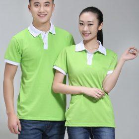 áo thun màu xanh lá cây cho nam nữ