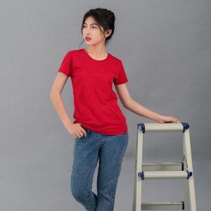 áo thun trơn đỏ